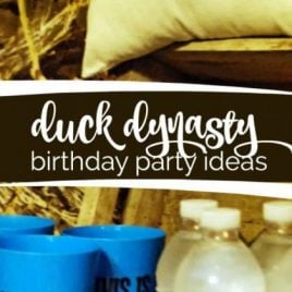 Duck Dynasty Themed Birthday Party
