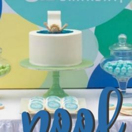 Pool Themed Birthday Party