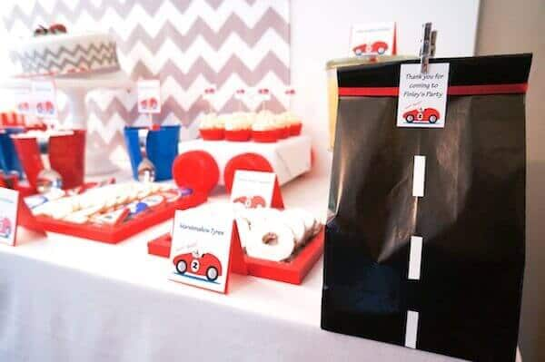 50 Car Themed Bedroom Ideas For Kids Boys Accessories: Boy's Vintage Car Themed Birthday Party