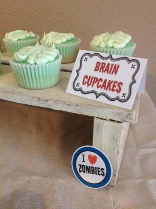 Zombie Themed Birthday Party Ideas