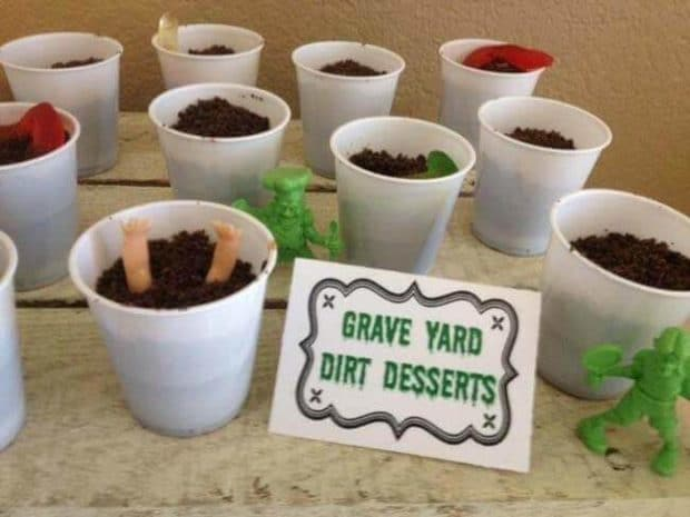Zombie Themed Birthday Party Food IDeas