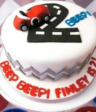 Boys Vintage Race Car Themed Birthday Party