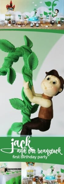 Jack and the Beanstalk Birthday Party Ideas
