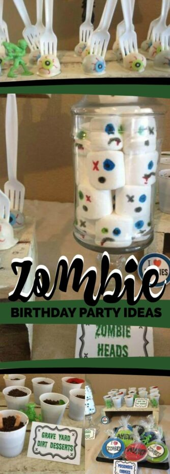 Zombie Birthday Party