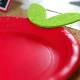 DIY Apple Plates