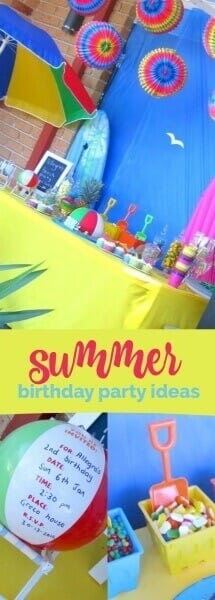 Summer Pool Party Birthday