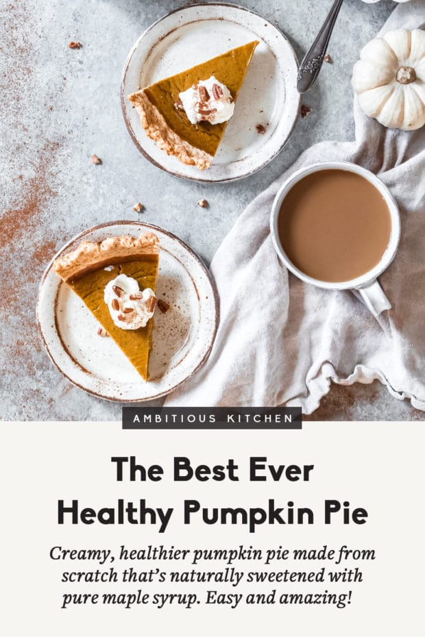 A cup of coffee, with Pie and Pumpkin
