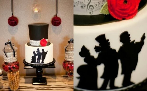 Christmas Theme Party Ideas For Family.Caroling Themed Family Christmas Party Spaceships And