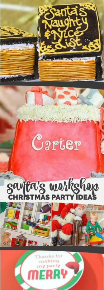 Santas Workshop Christmas Party