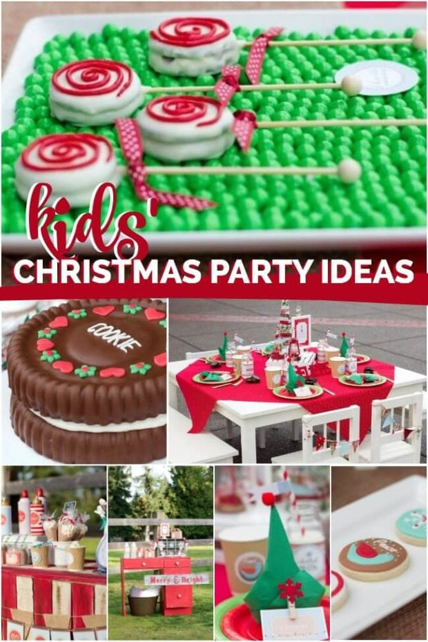 Christmas Kid Party Ideas Part - 24: Christmas Birthday Party Ideas