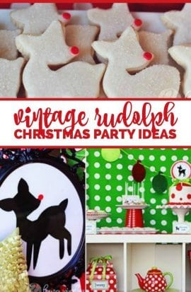 Vintage Rudolph Party