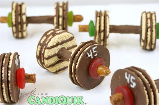 Barbell Cookies