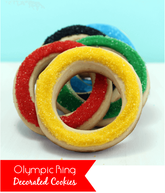 Olympic Ring Cookies