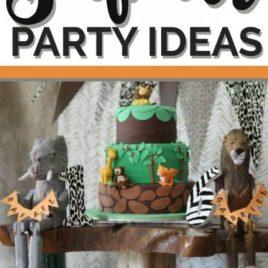 Safari Birthday Party Ideas