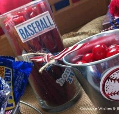 Baseball themed boy baby shower ideas