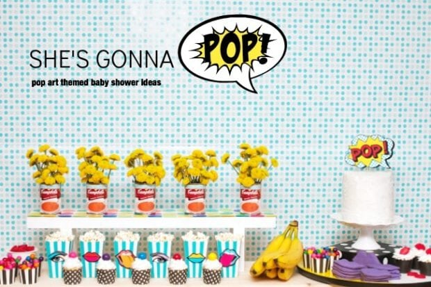 pop-art-themed-baby-shower-ideas