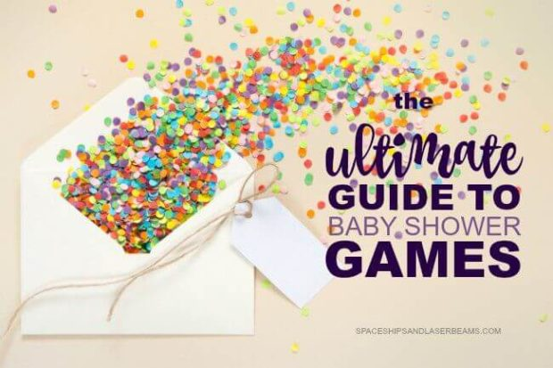 fun baby shower games ideas [free printables]  spaceships and, Baby shower
