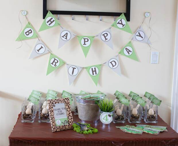 Boy's Bug Themed Birthday Party