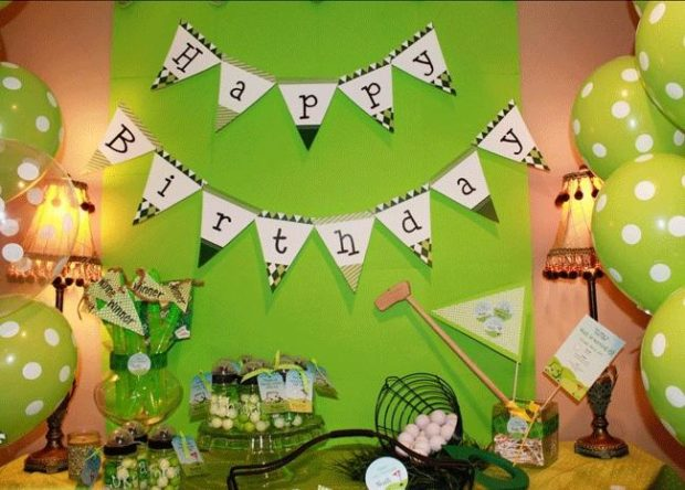 Golf-themed Birthday Party Ideas for a Boy - Spaceships and Laser Beams