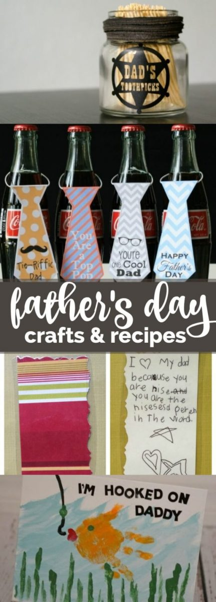 Fathers Day Recipes and Crafts