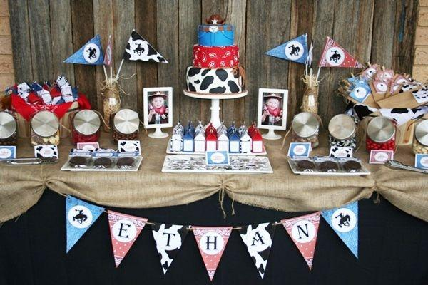 52 Cowboy Themed Boy Birthday Party Ideas Spaceships And