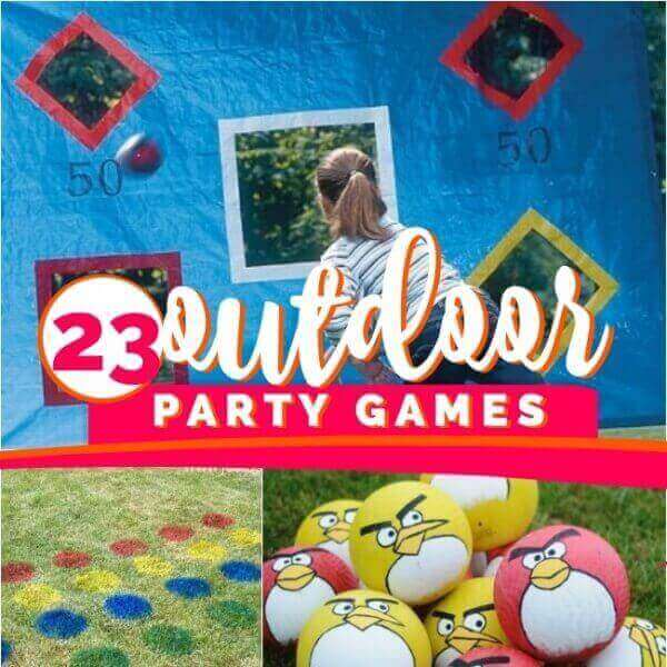 23 Outdoor Party Games