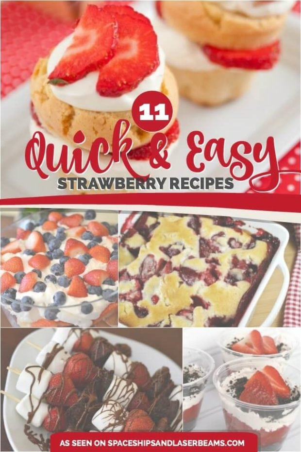 Quick And Easy Strawberry Recipes