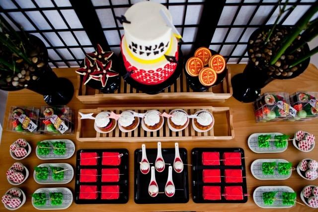 A Lego Ninjago Inspired 7th Birthday Party - Spaceships and