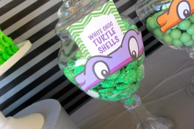 Ninja Turtles-Themed 3rd Birthday Party - Spaceships and ... - photo#44