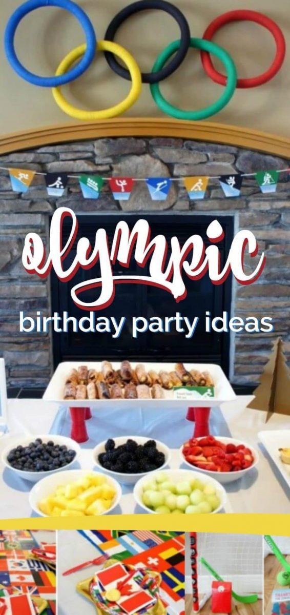 Olympic Birthday Party