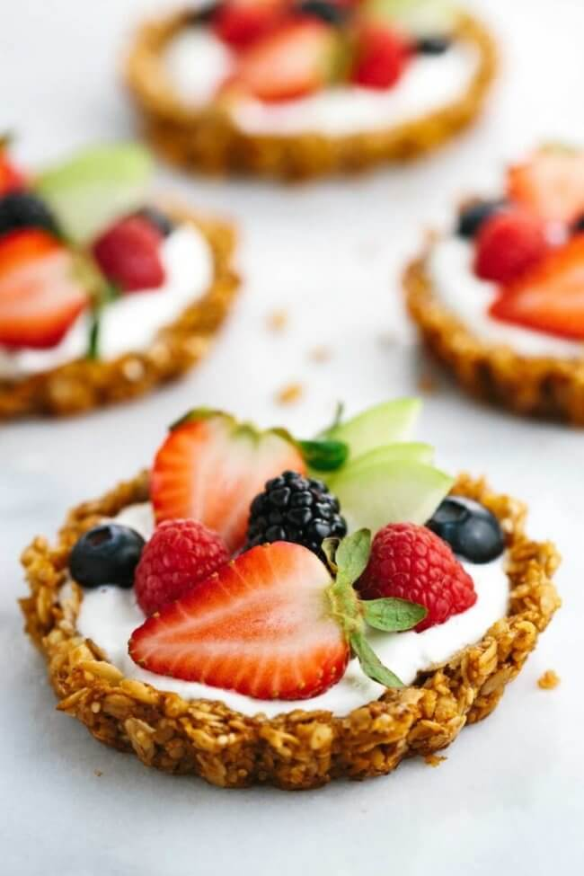 Fruit Tart Yogurt