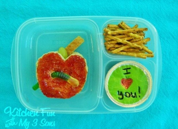 2 easy 1st day of school bento lunch