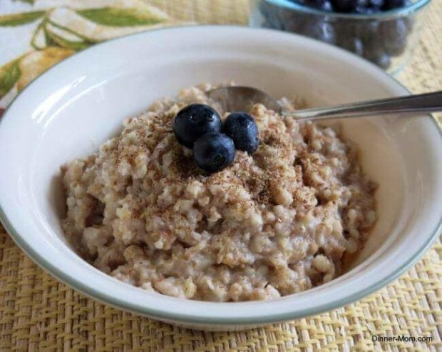 Steel Cut Crockpot Oatmeal
