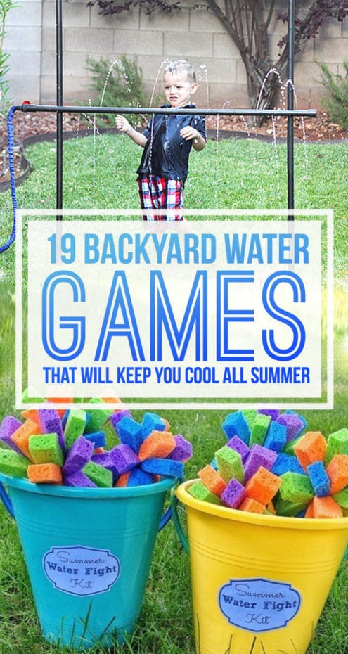 Backyard water Games