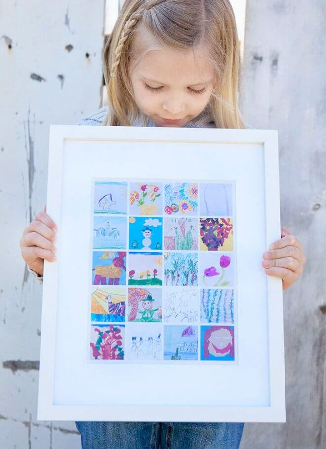 Kids Art Collage