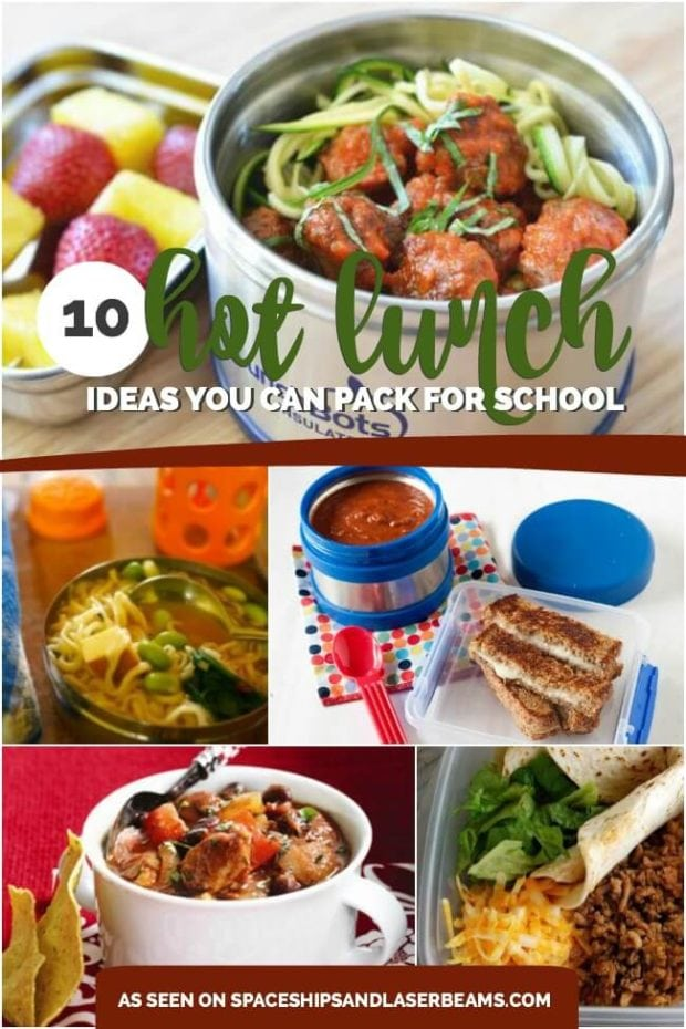 10 hot lunch ideas you can pack for school spaceships for Lunch food ideas