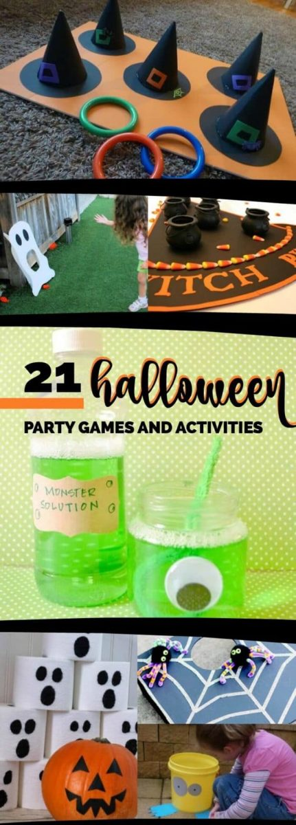 21 halloween party games, ideas & activities - spaceships and laser