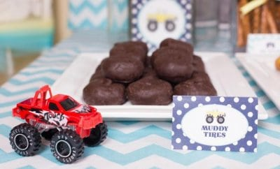 monster truck party ideas