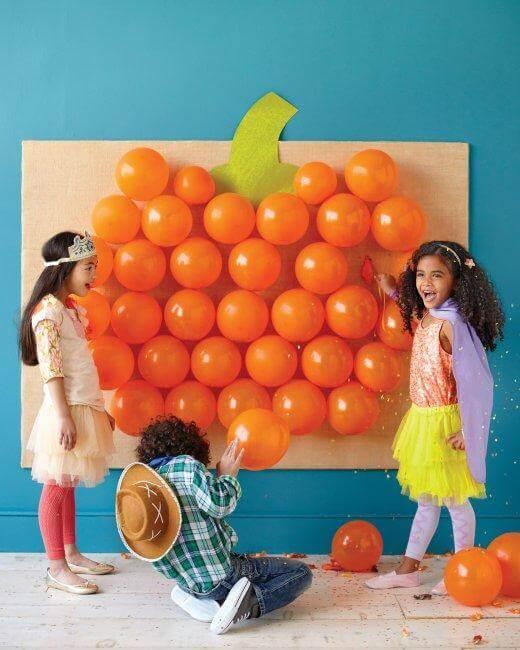 Pop The Pumpkin Halloween Party Game