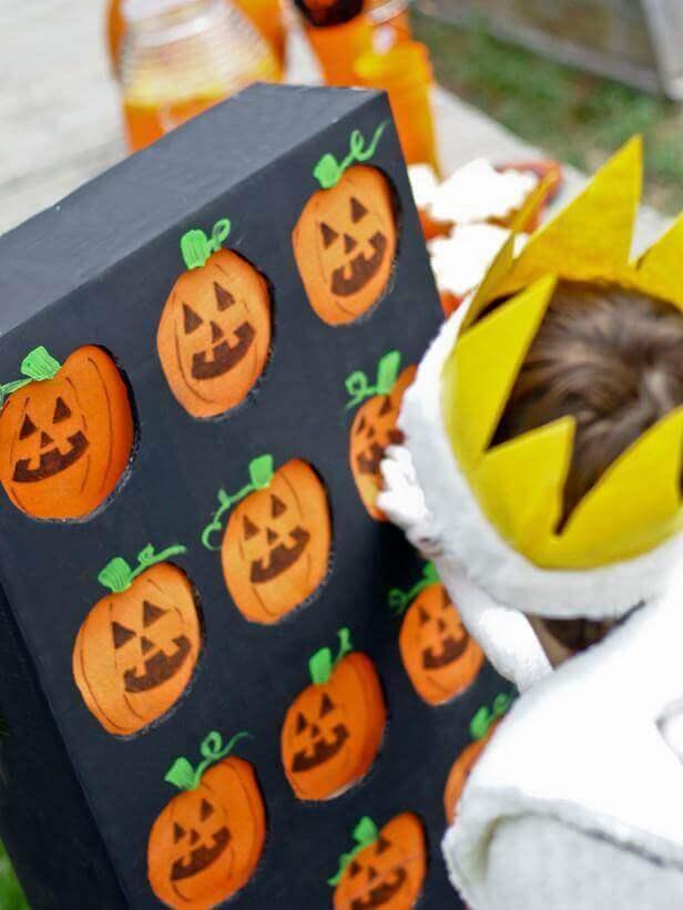 Halloween Party Game Pumpkin Picking