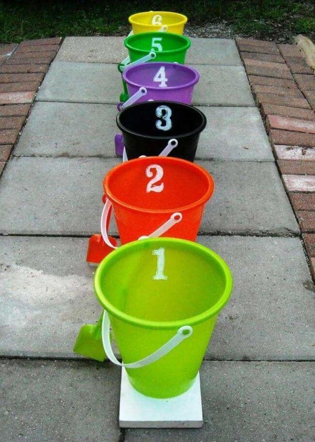 Halloween Bucket Game