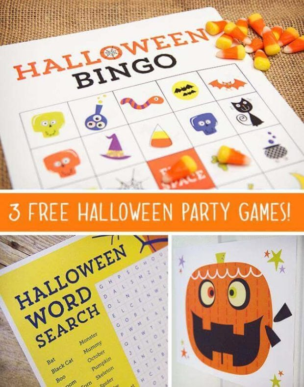 halloween bingo game - Halloween Gmaes