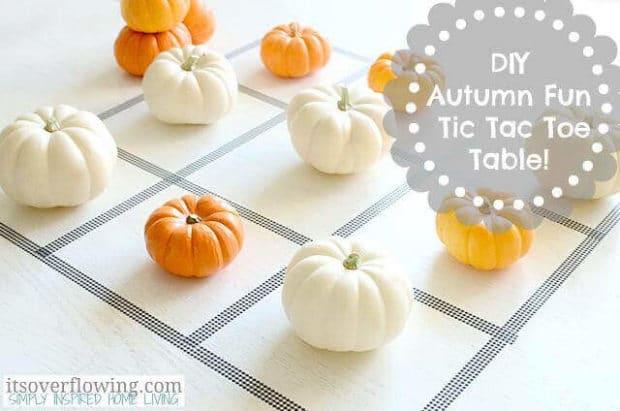 Halloween Pumpkin Tic Tac Toe