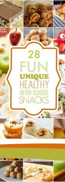 Healthy After School Snacks
