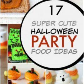 super cute Hallowwen party food ideas for kids