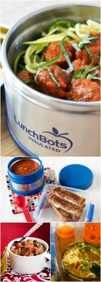 Hot Packed School Lunch Ideas