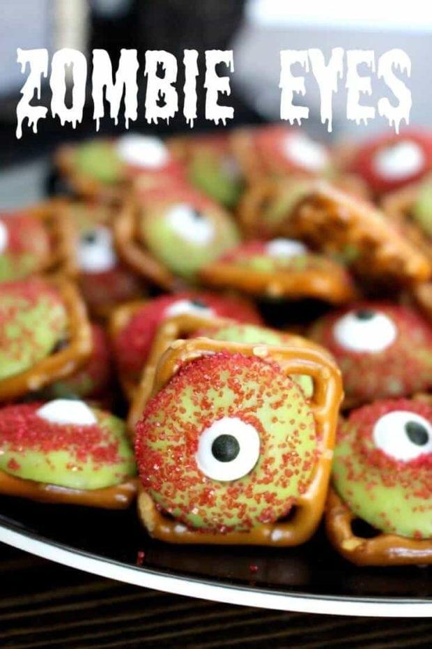Zombie Pretzel Eyes