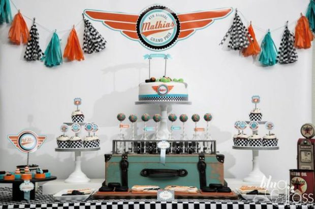 Formula One Style Boy S Race Car Birthday Party