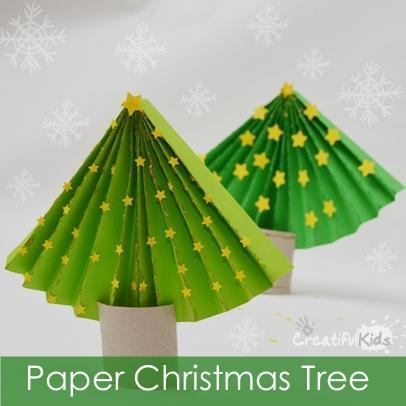 Toilet Paper Roll Crafts Tree