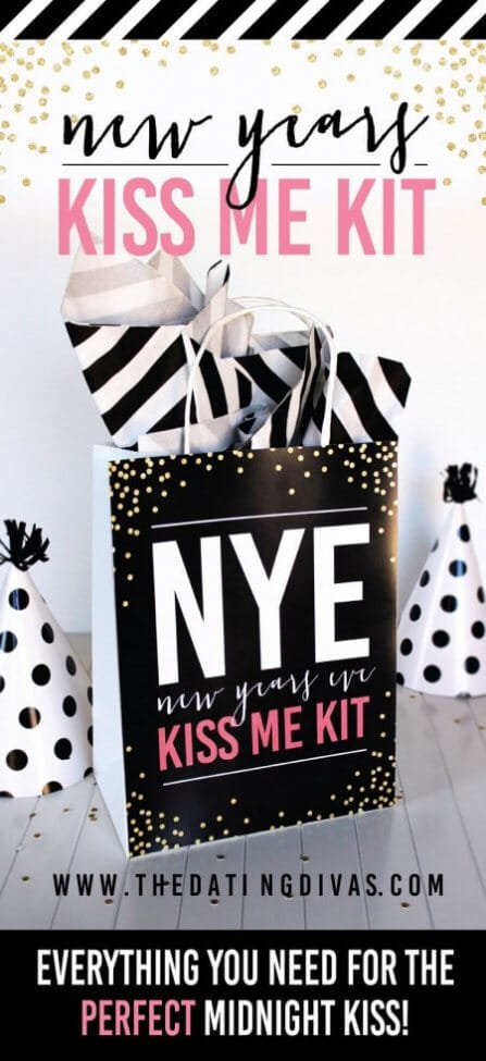 New Years Eve Kiss me Kit